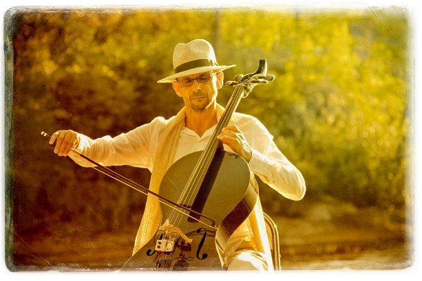 Kalyan on Cello